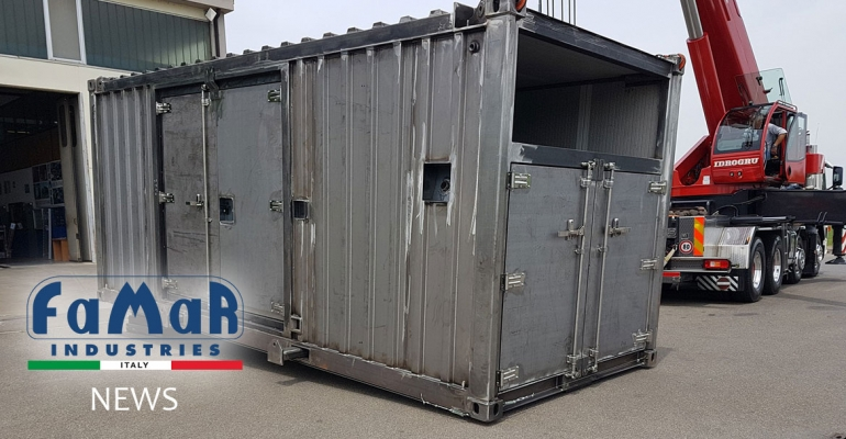 20'Container HC with CSC and DNV certification 2.7.1.