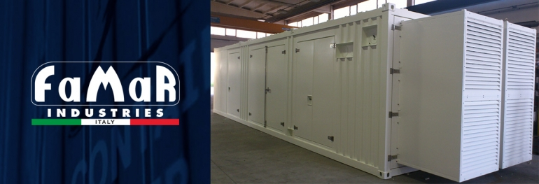 SOUNDPROOF CONTAINERS HIGH PERFORMANCE
